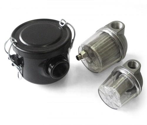 Oil mist separator filters